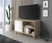 Mueble TV wind 100 cm color puccini / blanco