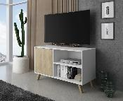 Mueble TV wind 100 cm color blanco / puccini